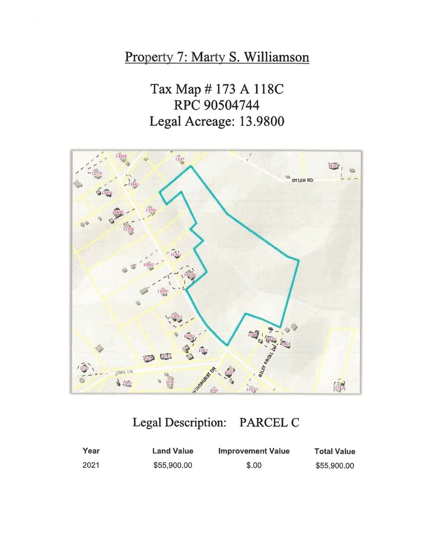 Image for 13.98 acres +/- Parcel C on Hardy Road, Hardy