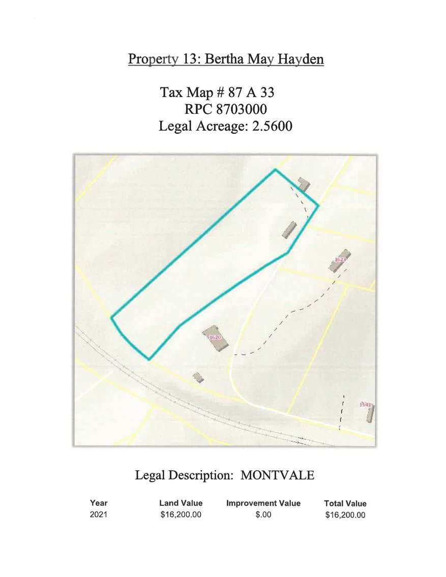 Image for 2.56 acres +/- on McDearmon Road in Montvale