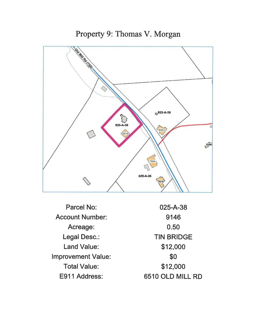 Image for 6510 Old Mill Road, Glade Spring 0.50 acre, more or less