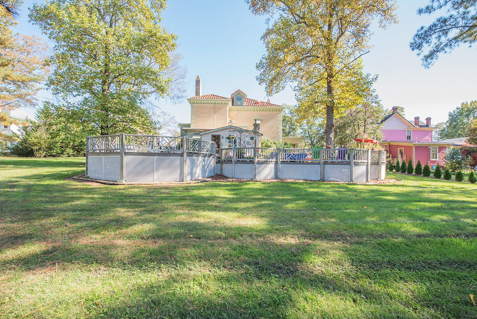 Image for  Majestic 5 BR/4.5 BA Home on 1+ Acres w/Large Detached Garage/Shop in Downtown Blackstone, VA