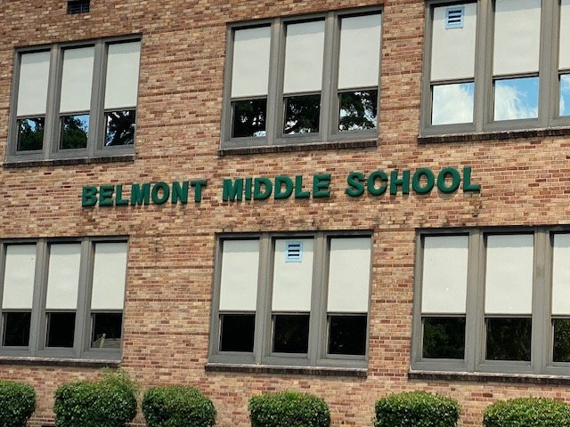 Contents of Belmont Middle School