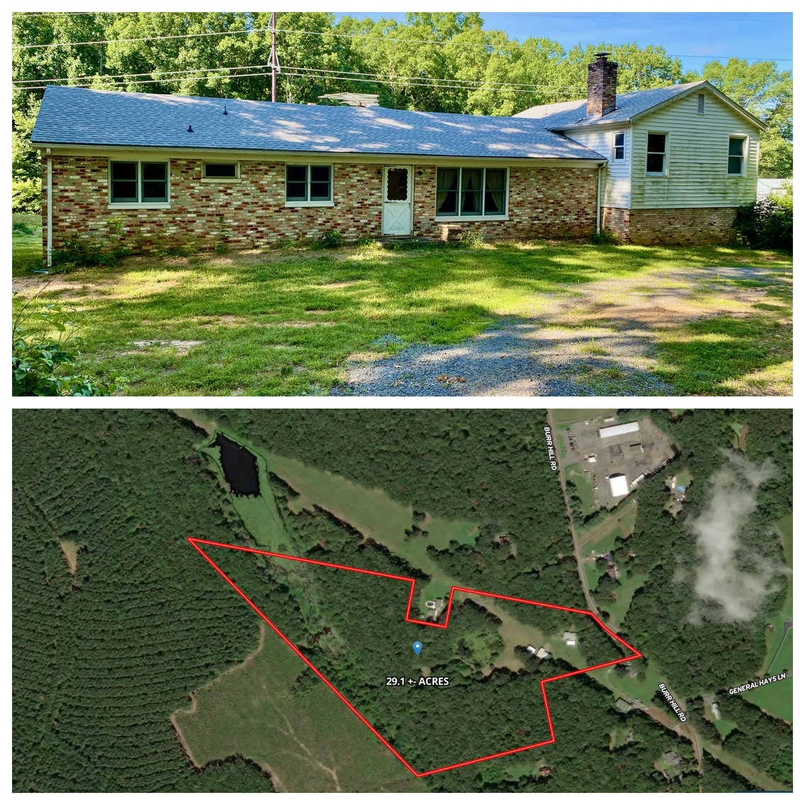 Image for  AUG 4 4 BR/4 BA Home on 29.1 +/- Acres in Orange County, VA--SELLS to the HIGHEST BIDDER!!