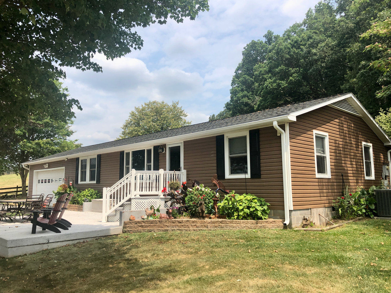 Image for Combo of #1 and #2 -- Immaculate 3 BR/2 BA Home on .88 +/- Acre Lot and 47.9 +/- Acre Farm  --  Rockingham County, VA