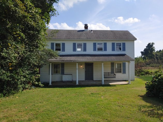 2 STORY VINYL SIDED HOME W/ 3 BR, 1½ BA -  2 PARCELS, COMBINED 5.79+/- ACRE LOT