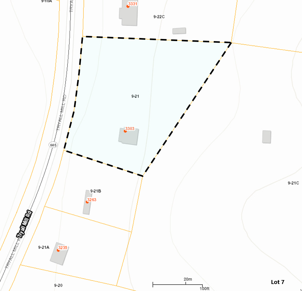 Image for 3303 Tryall Mill Rd - County of Greensville - Tax Map # 9-21