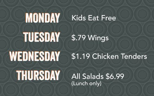 Morrisville weekly specials