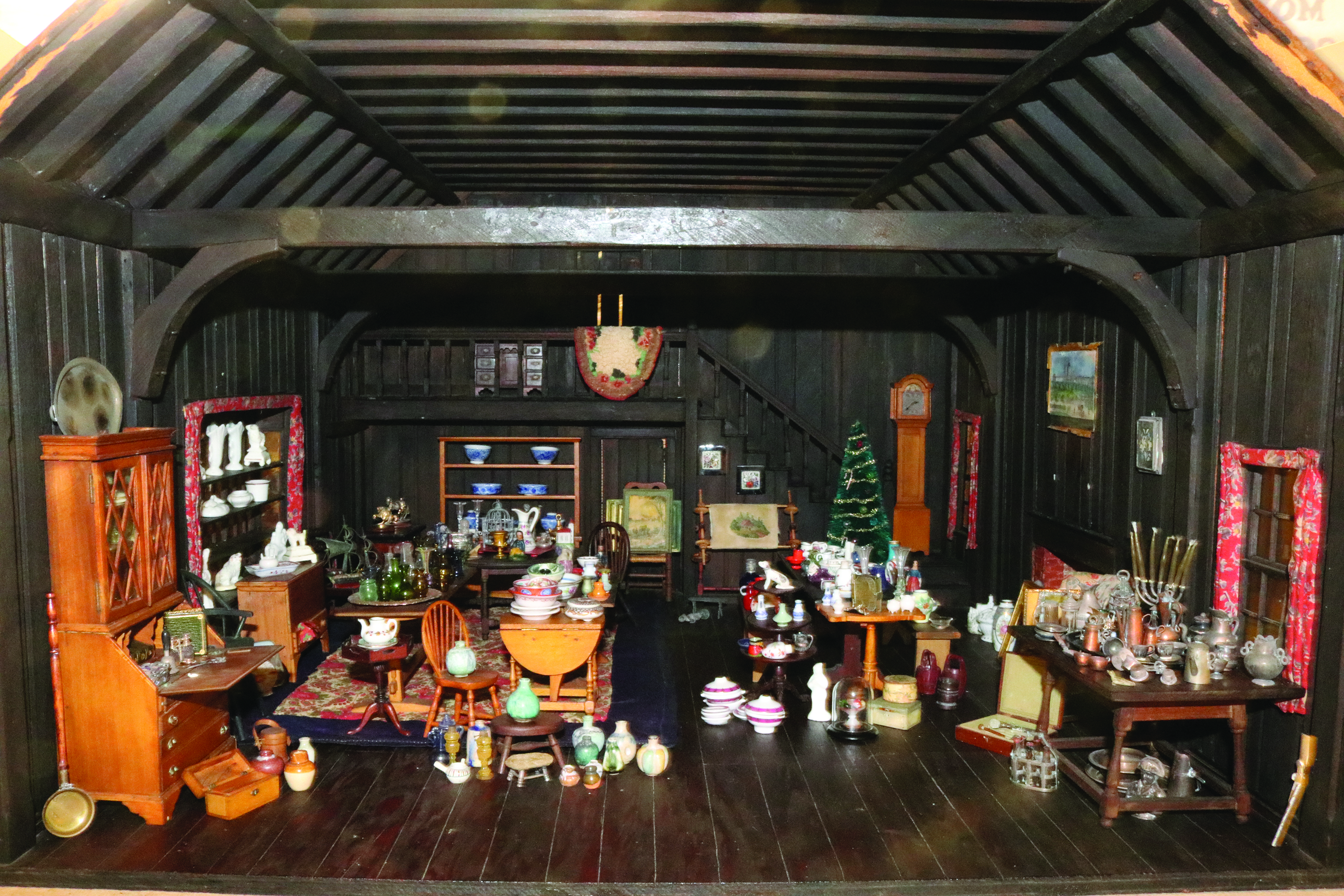 Miniature antique shop room by Frederick B. Hicks