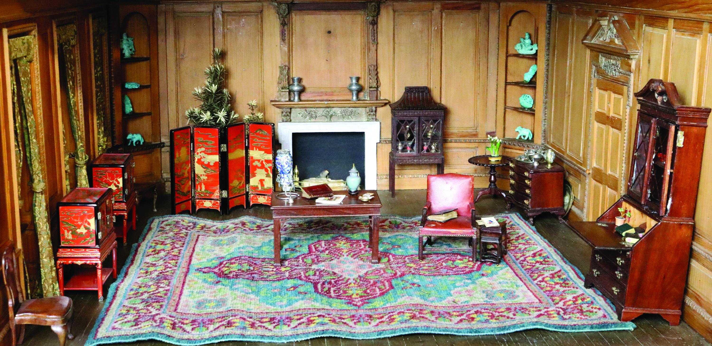 Miniature Georgian Living Room by Frederick B. Hicks