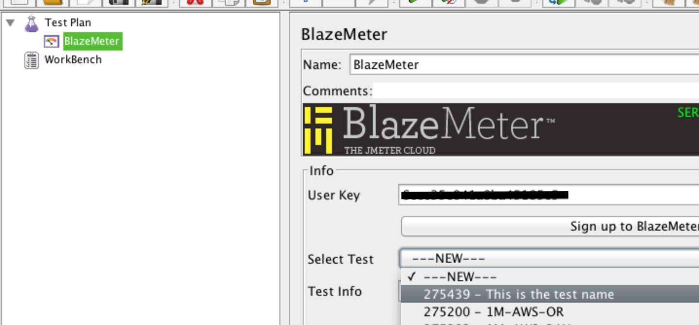 Configure BlazeMeter's Listener to JMeter