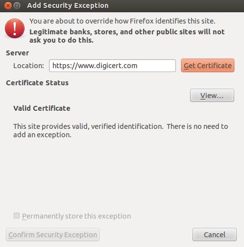 Troubleshooting when JMeter's SSL certificate is only valid for the JMeter Proxy
