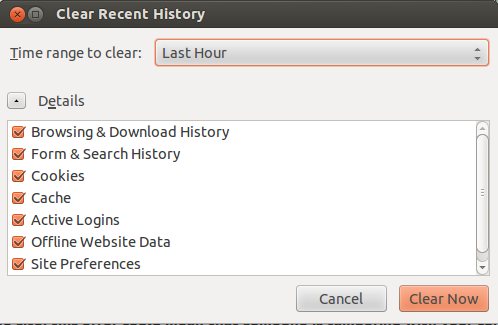 Troubleshooting when JMeter's SSL certificate is only valid for the JMeter Proxy: Clear history