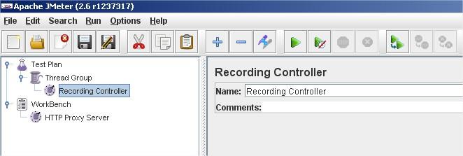 Recording Controller