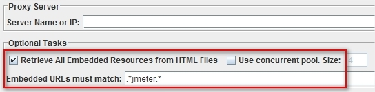 JMeter 2.8 HTTP Request Defaults