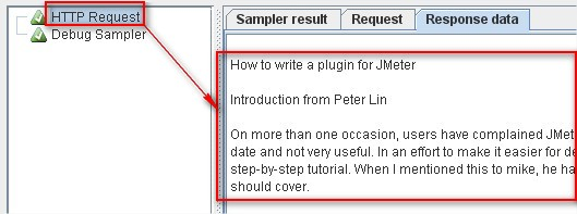 How to extend JMeter-> Response tab