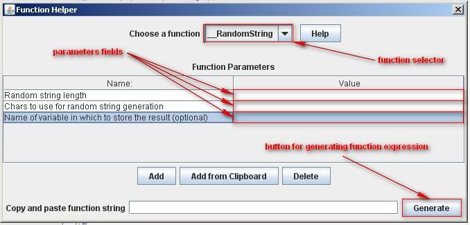 JMeter Functions: function helper  JMeter 2.6