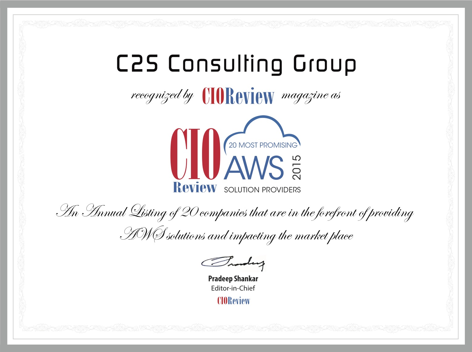 C2S Consulting Group[4]