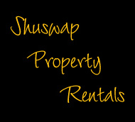 Shuswap Property Rentals