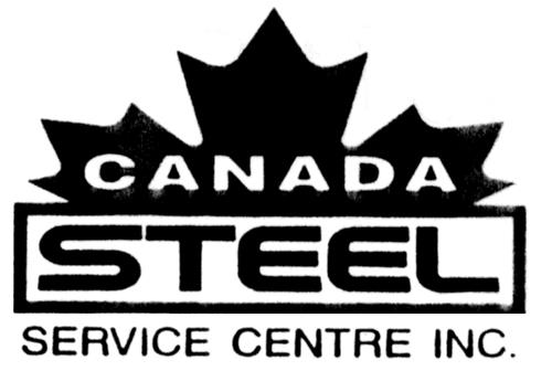 CANADA STEEL SERVICE CENTRE IN