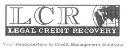 LEGAL CREDIT RECOVERY CORP., a