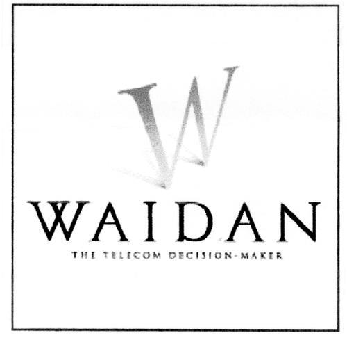 Société WAIDAN S.A.,