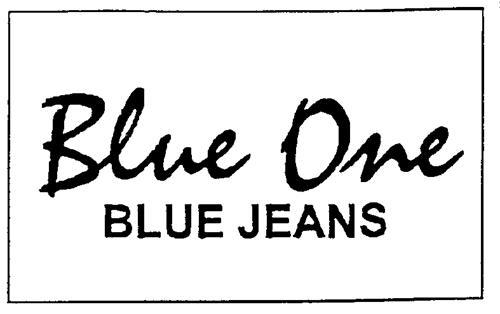 BLUE ONE CLOTHING INC.