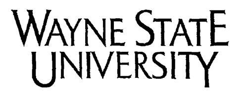 WAYNE STATE UNIVERSITY, a non-