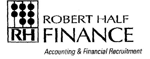 ROBERT HALF INCORPORATED, a Co