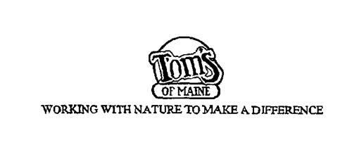 Tom's of Maine, Inc. a corpora