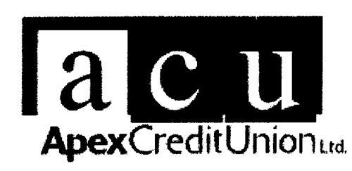 Apex Credit Union Ltd.,