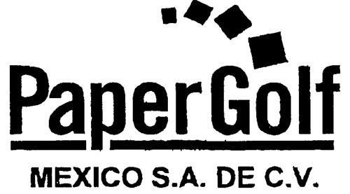 PAPER GOLF MEXICO, S.A. DE C.V