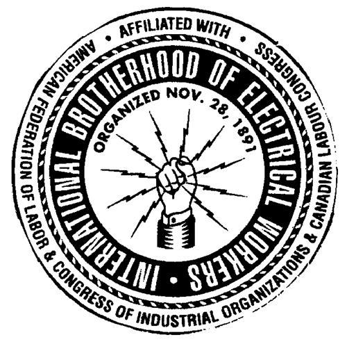 INTERNATIONAL BROTHERHOOD OF E
