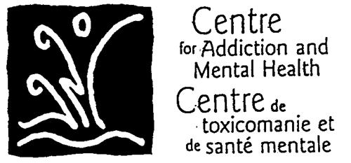 Centre for Addiction and Menta