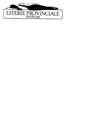 Cie de Literie Provinciale Lté
