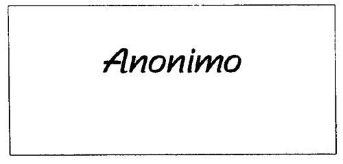 ANONIMO & Design
