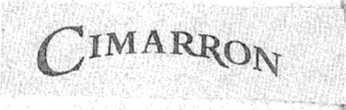 CIMARRON (& DESIGN)