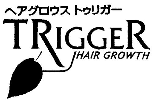 TRIGGER HAIR GROWTH & Design