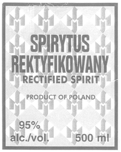 SPIRYTUS REKTYFIKOWANY  & Design