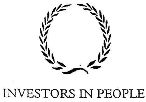 INVESTORS IN PEOPLE UK, an Eng