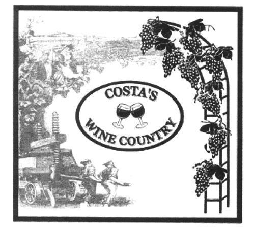 COSTA'S WINE COUNTRY INC.