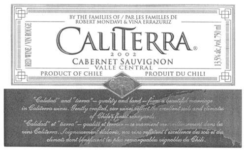 VIÑA CALITERRA S.A.