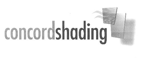 CONCORD SHADING SYSTEMS INC.