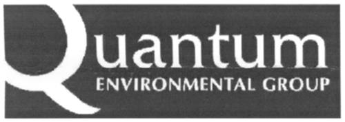 QUANTUM ENVIRONMENTAL GROUP IN