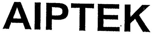 AIPTEK INTERNATIONAL INC.