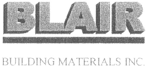 Blair Building Materials Inc.