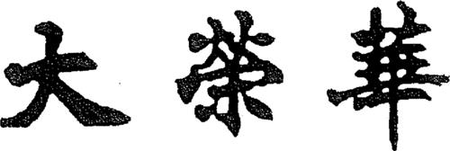Tai Wing Wah in Chinese Characters