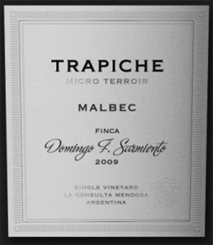 TRAPICHE MICRO TERROIR (& DESIGN)
