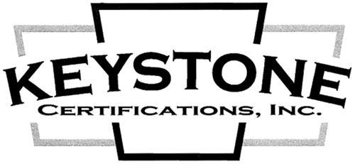 Keystone Certifications Inc.