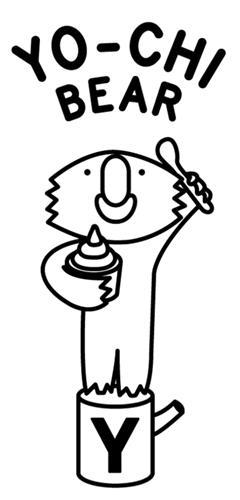 YO-CHI BEAR & design