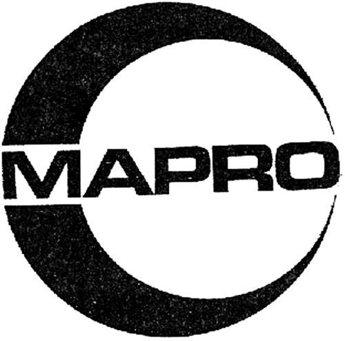 MAPRO INTERNATIONAL MACCHINE P
