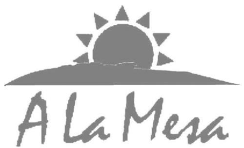 A LA MESA & Design
